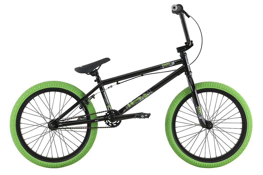 Haro Downtown Black (Green)