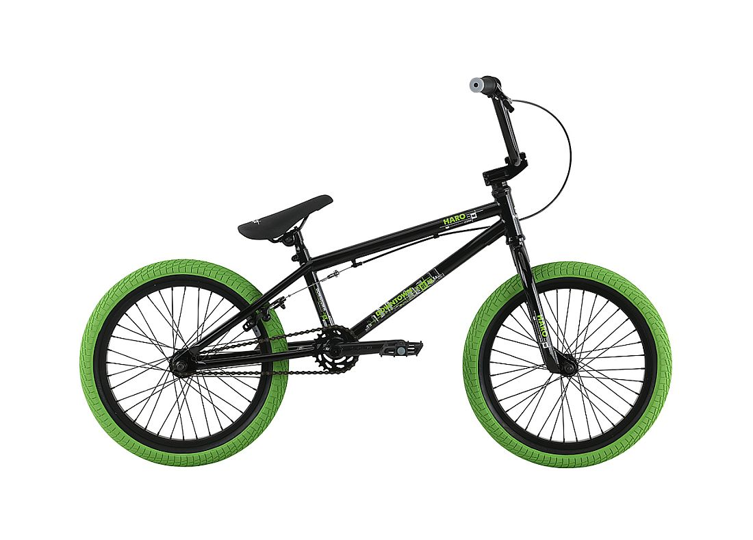 Haro Downtown 18 Junior Black (Green)