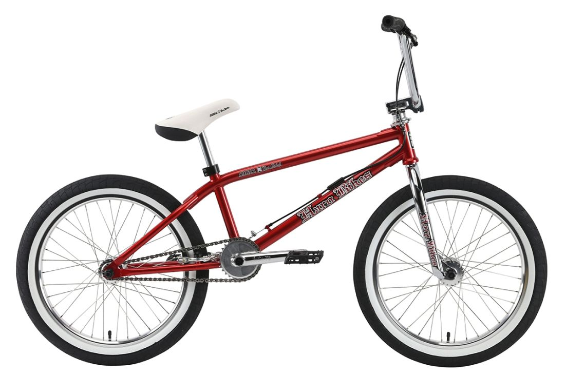 Haro Dave Mirra Tribute 21 - Red / Chrom - jen 1 kus