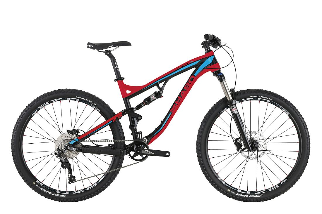 Haro Shift R5 - 27,5 Red Blue