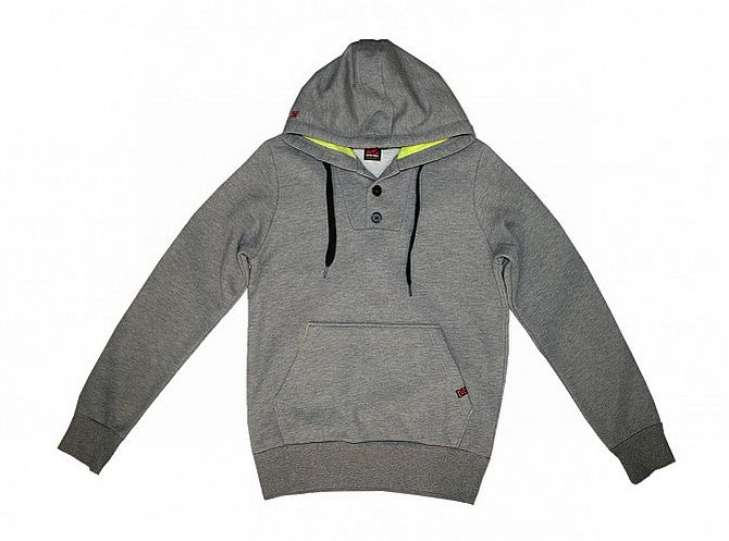 Fiveten 5.10 Magnum Hoodie Heather Grey / Solar Yellow