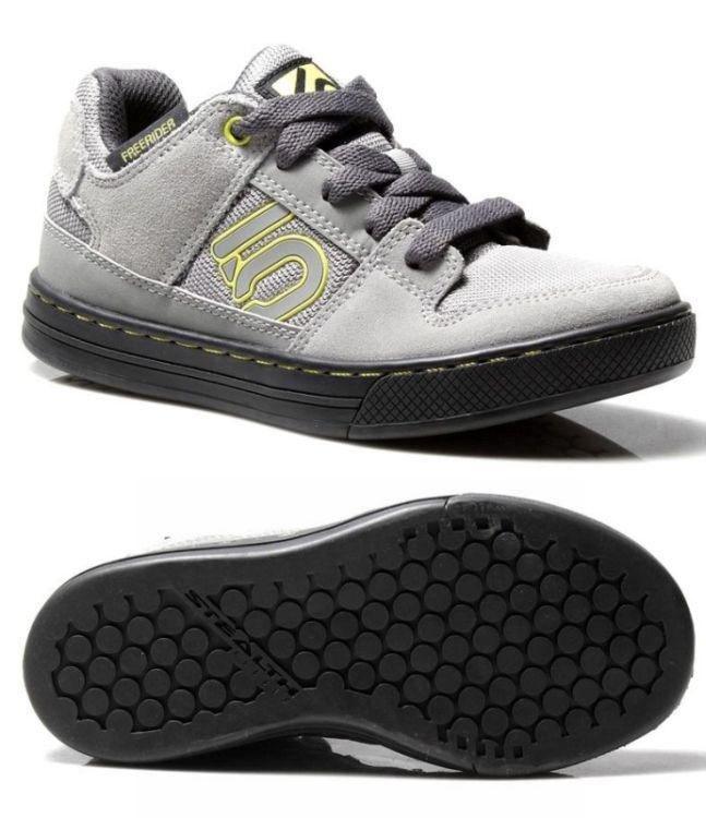 3a811a371a Fiveten 5.10 FREERIDER K (kid) Grey   Lime - dětské boty na kolo