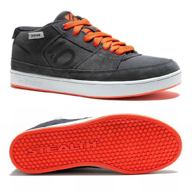 Fiveten SPITFIRE Dark Grey / Bolt Orange