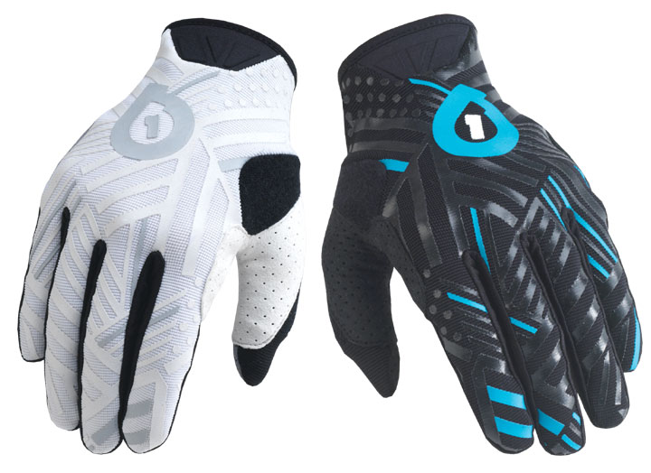 661 401 gloves SixSixOne white