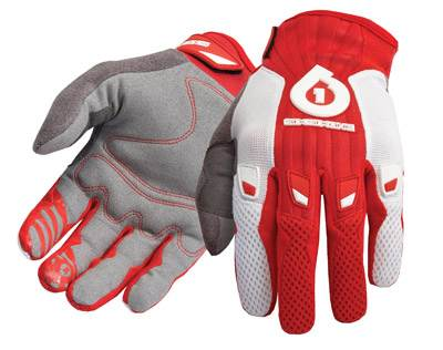 661 Comp 10 gloves - SixSixOne - red