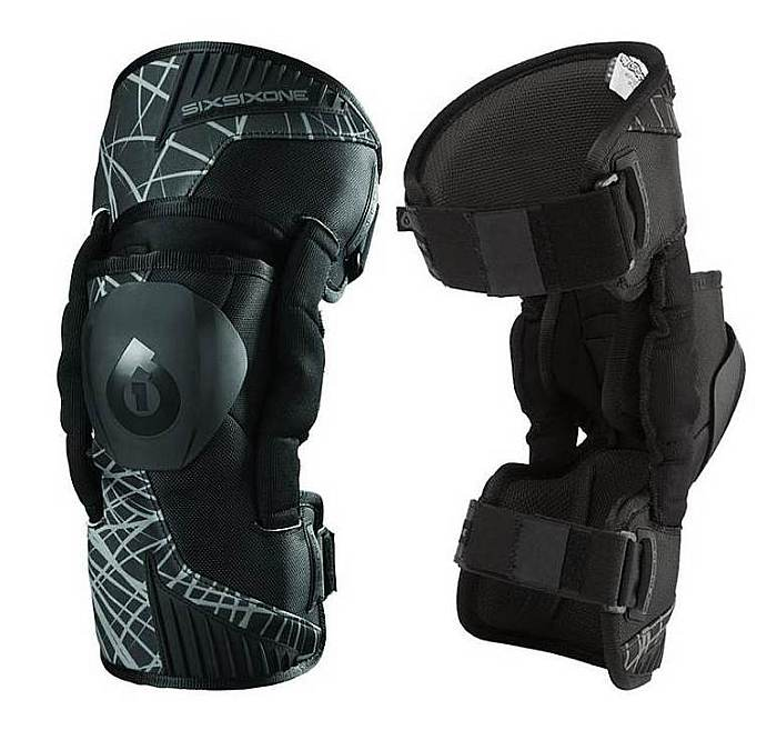 661 Cyclone Wired knee brace