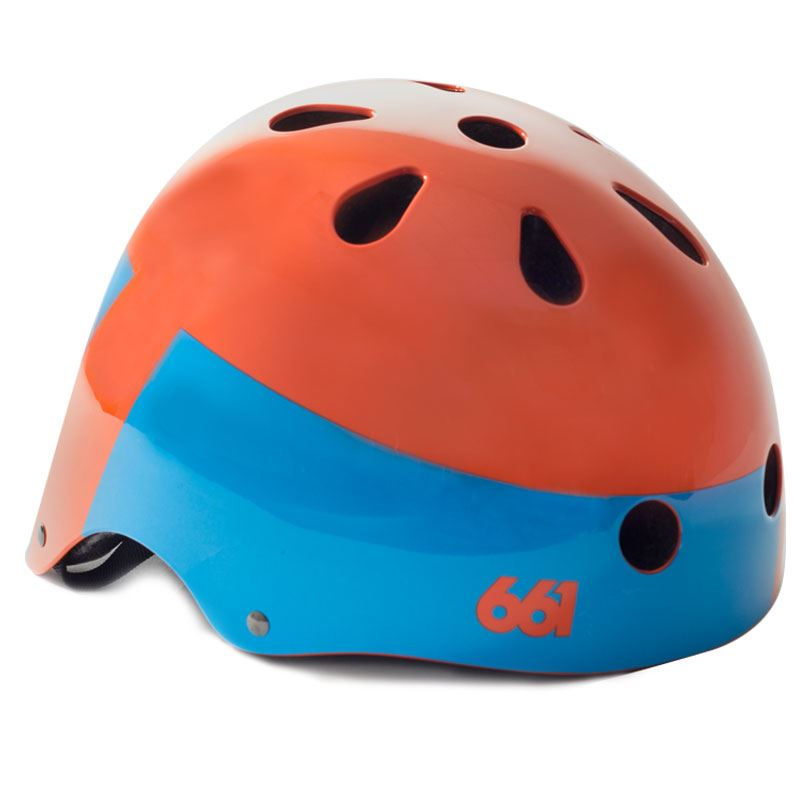 661 Dirt Lid - YOUTH Orange helma dětská