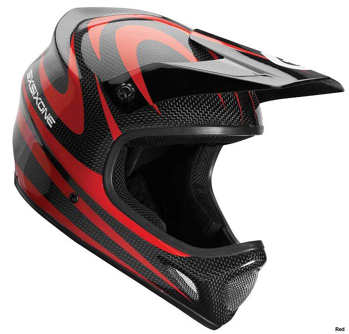661 Evo Carbon Camber helmet - red