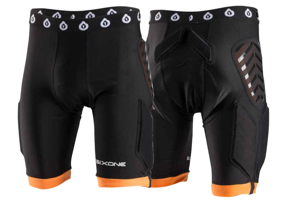 661 Evo Compression d3o shorts