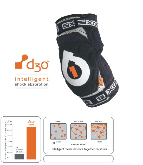661 Evo d3o elbow - inteligent absorbtion size XL