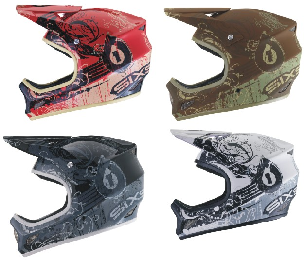 661 Evo (evolution) Distressed helmet-white