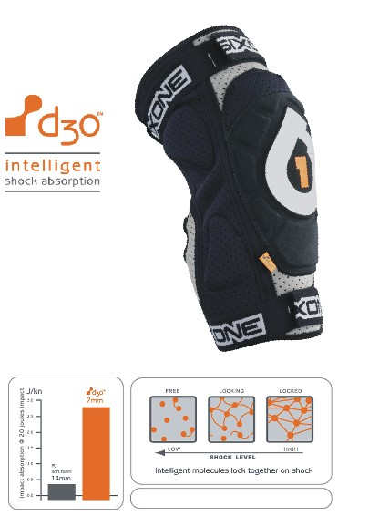 661 Evo d3o knee - inteligent absorbtion - size S