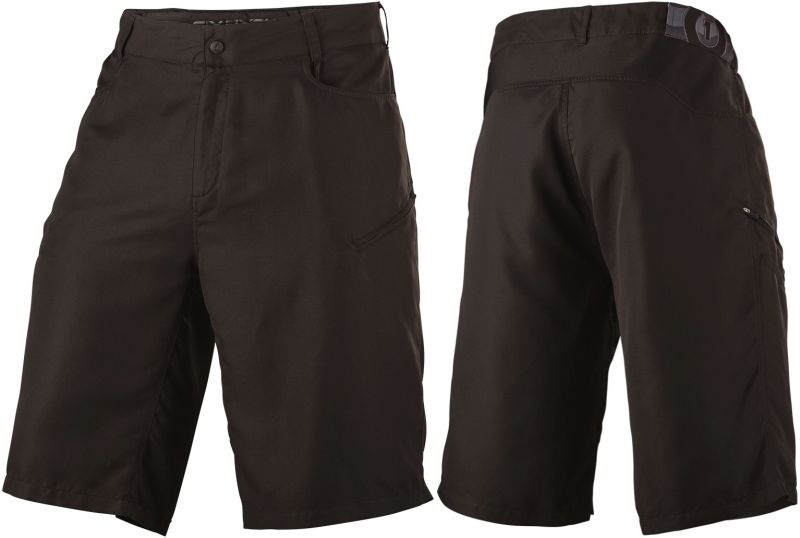 SixSixOne Freeride Shorts Black kraťasy