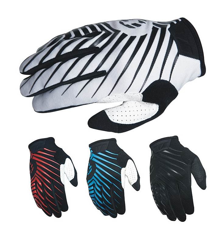 661 - 401 Chevron gloves SixSixOne white