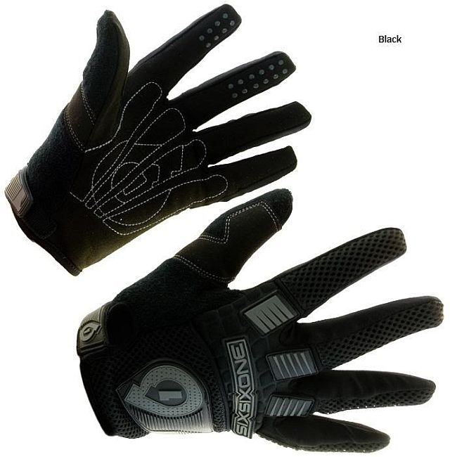 661 Comp 07 gloves - SixSixOne - black