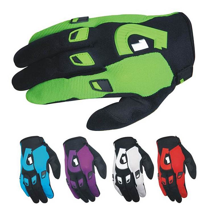 661 Comp 11 gloves - SixSixOne - Lime M