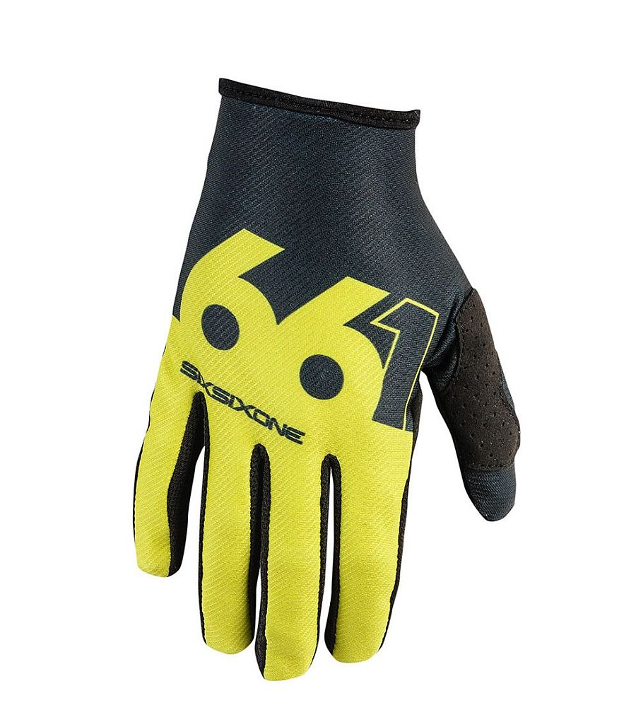 661 Comp Slice gloves - Chartreuse/Black