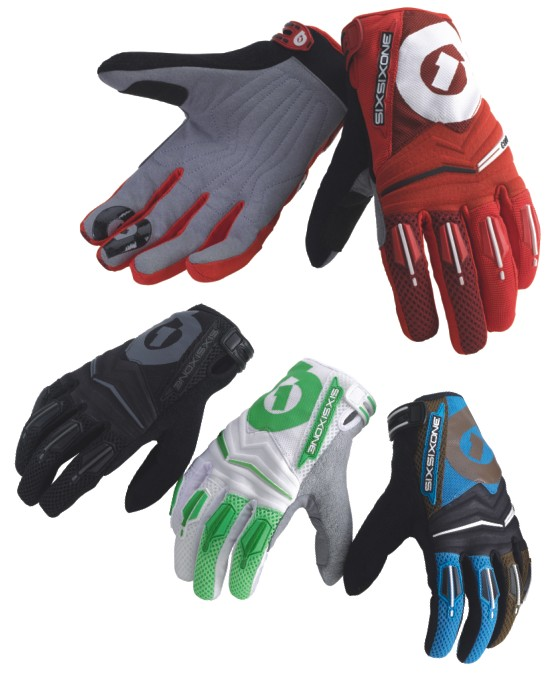 661 Comp gloves - SixSixOne - green/white