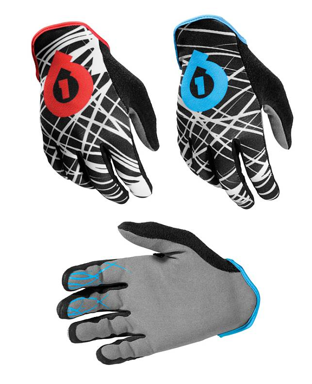 661 REV Wired gloves - SixSixOne - blue size S