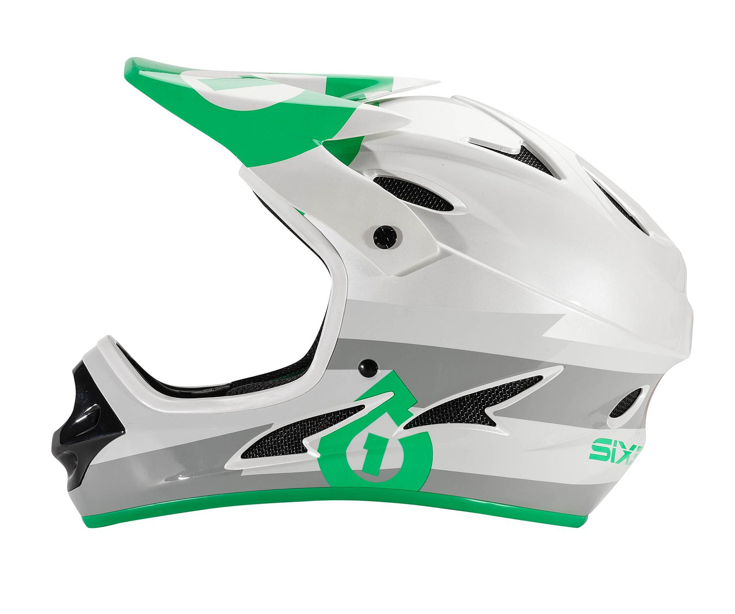 661 Comp II Bolt Grey/Green helmet