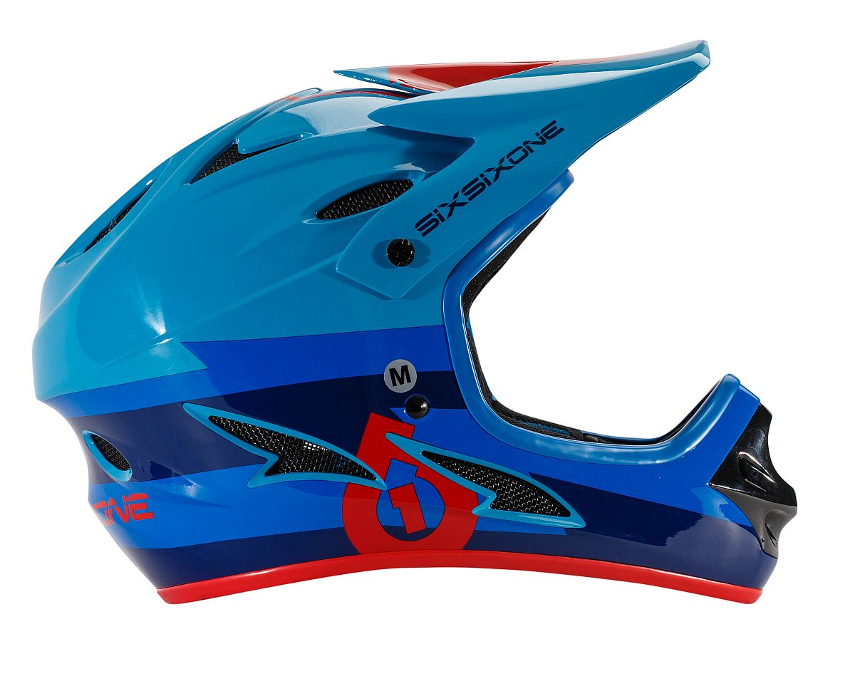 661 Comp II Bolt Bolt Blue/Red helmet - size S