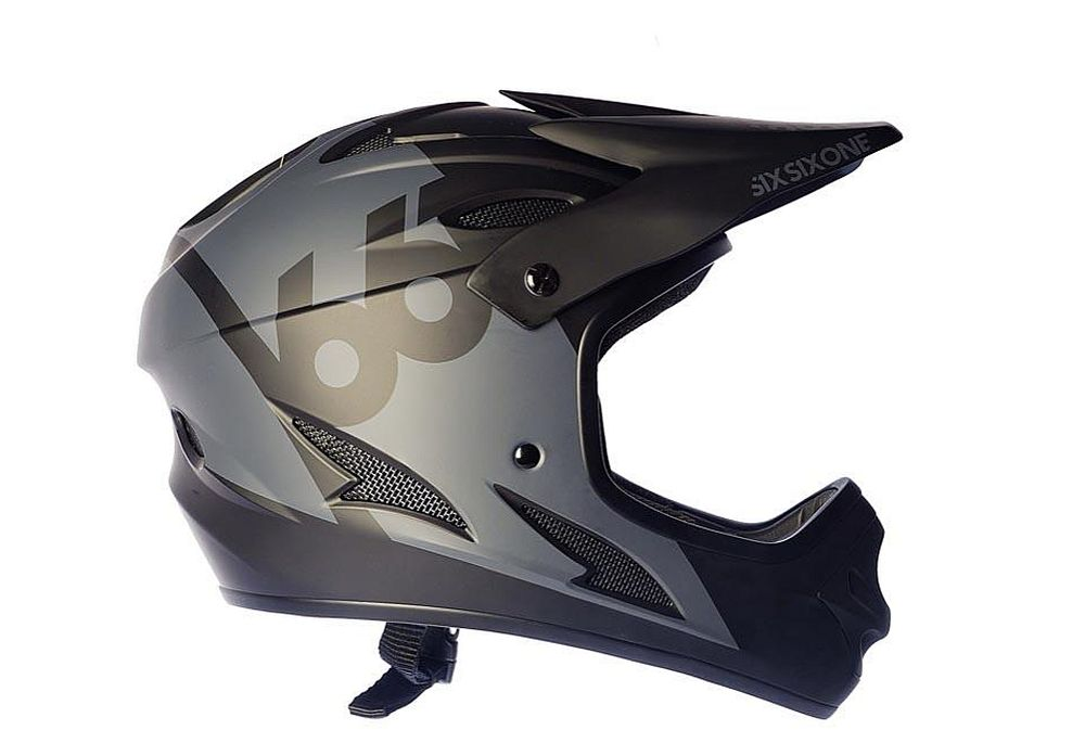 661 Comp II Rental Black helmet