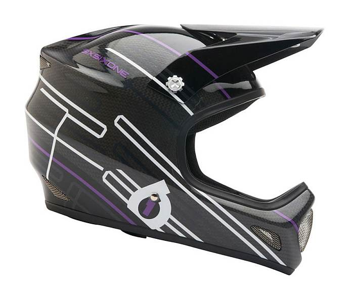 661 Evo Carbon helmet purple