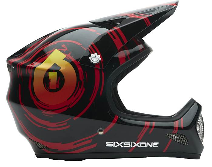 661 Evo (evolution) helmet Inspiral red/black