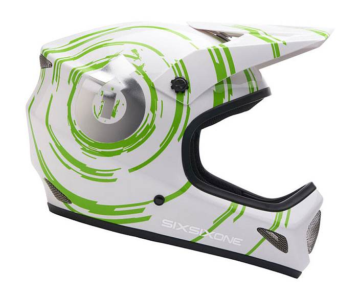 661 Evo (evolution) helmet Inspiral green/white size XS