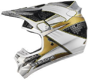 661 Hurricane Flight Carbon Hex Gold/black