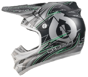 661 Hurricane Flight Carbon Icon black/green