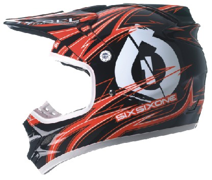 661 Hurricane Flight Carbon Icon Red Black