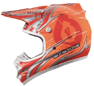 661 Hurricane Flight Carbon Icon Orange