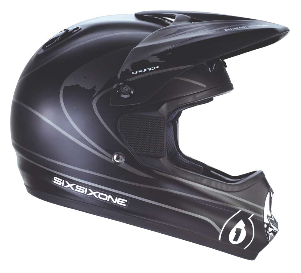 661 Launch helmet black