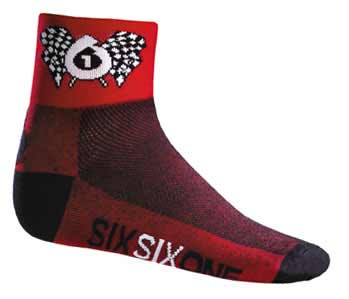 661 Logo Socks Flag
