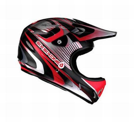 661 Strike helmet Red - Sixsixone