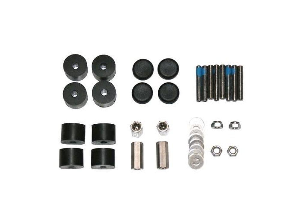 ASP Swiss Snowscoot - Screw & Elastomer set
