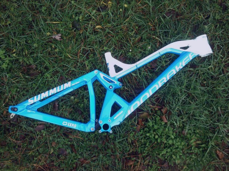 2015 Mondraker Summum PRO Team frame without shock M