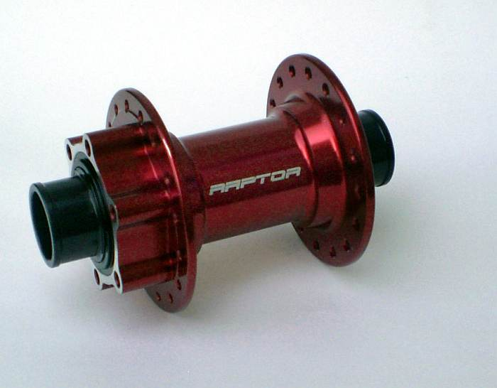 RAPTOR Firejet MTB 20 Disc 36 H, 20 mm T-axle, red