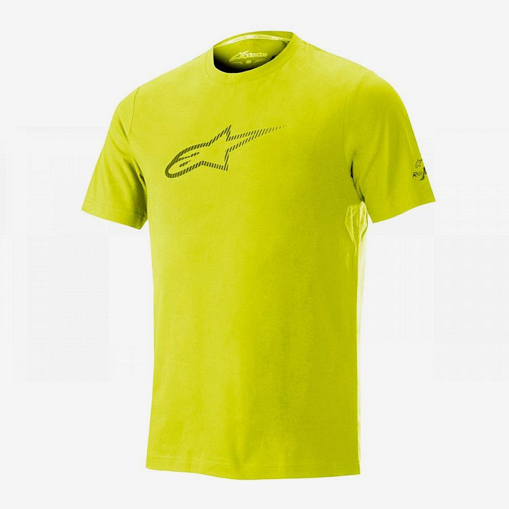 Alpinestars Ageless V2 Tech Tee Ride Dry - Celery