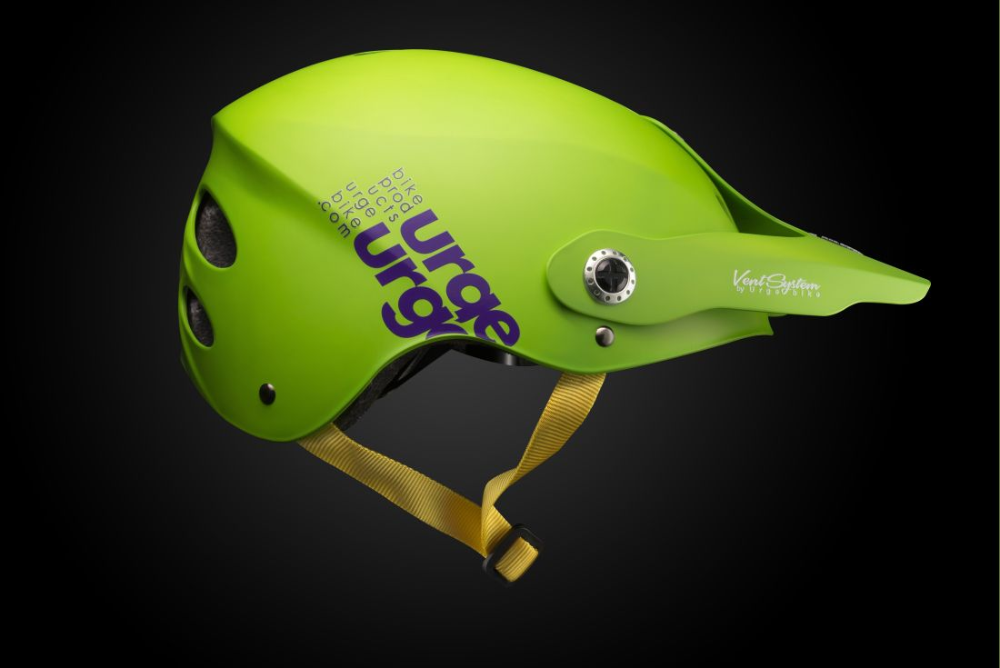 URGE All-In helmet Green Purple - size L/XL