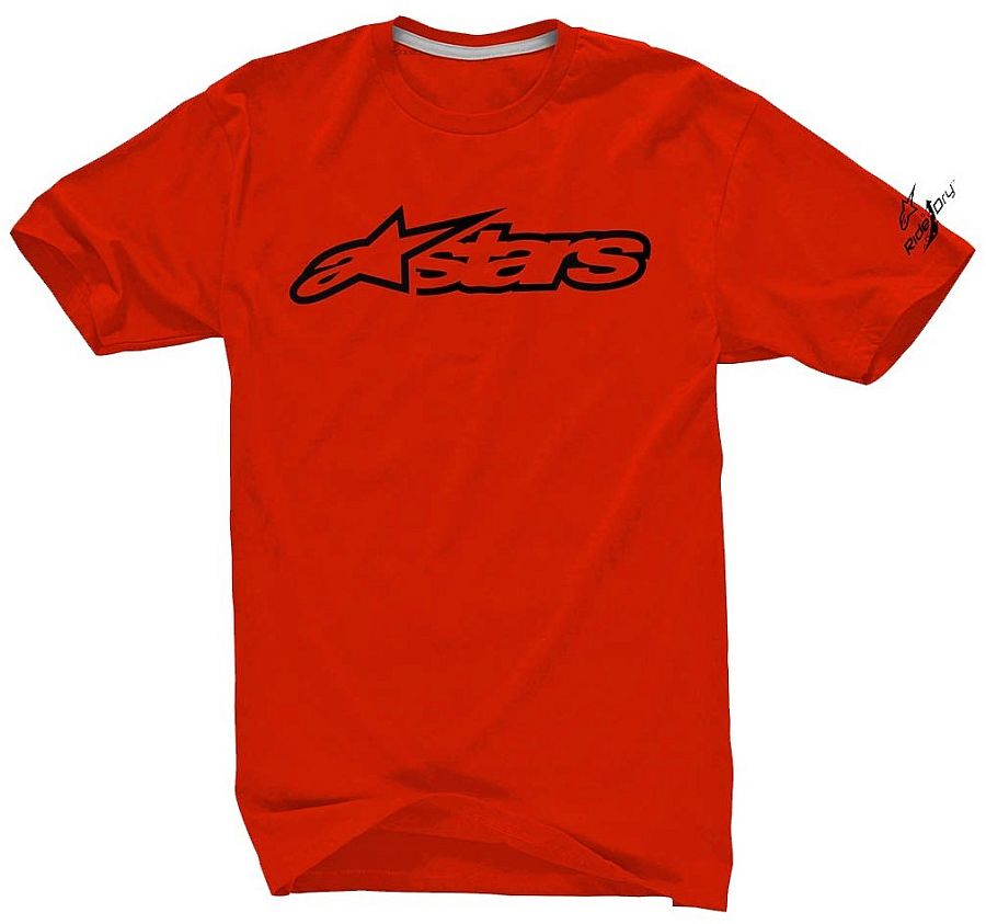 Alpinestars Blaze 2 Tech Tee Dry - Red Black