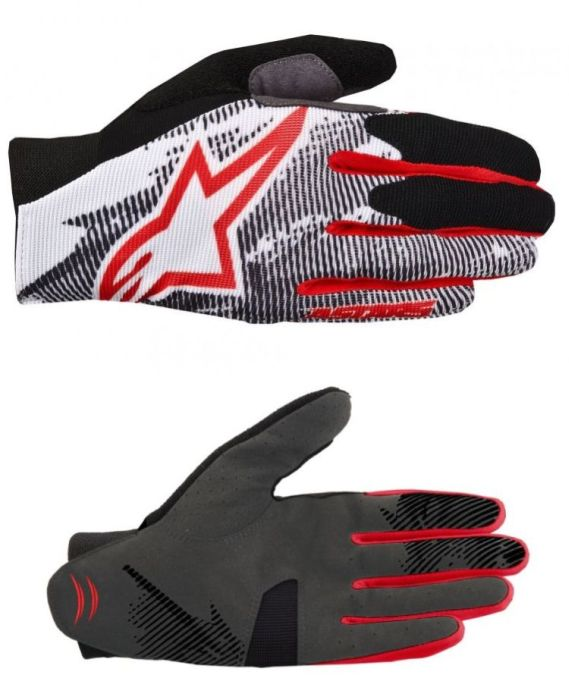 Alpinestars Aero rukavice Red Black White