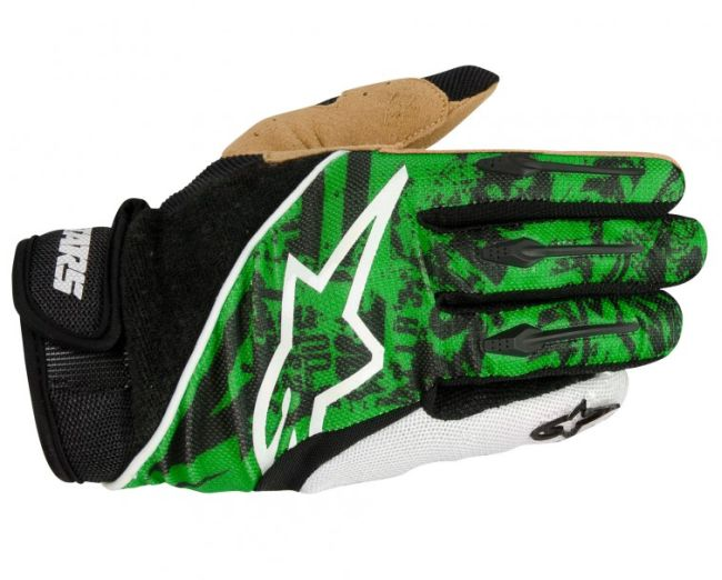 Alpinestars Gravity rukavice Green