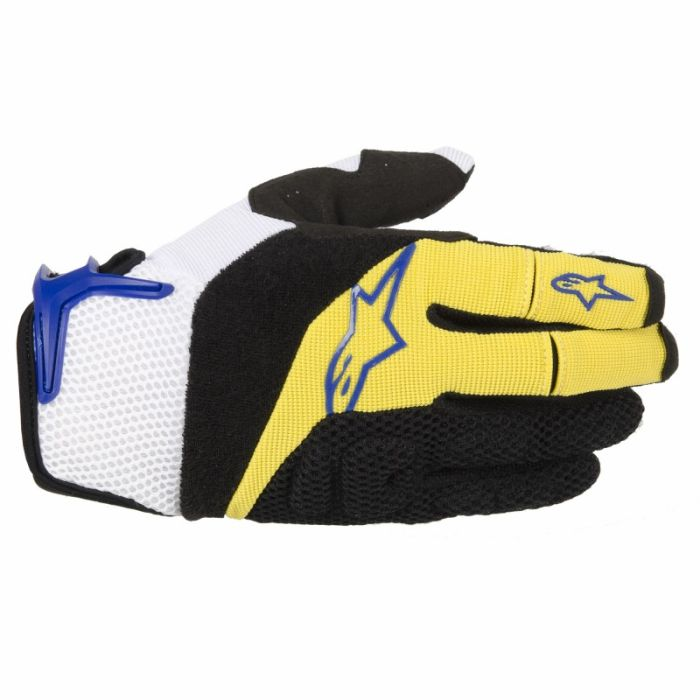 Alpinestars MOAB rukavice Yellow Blue