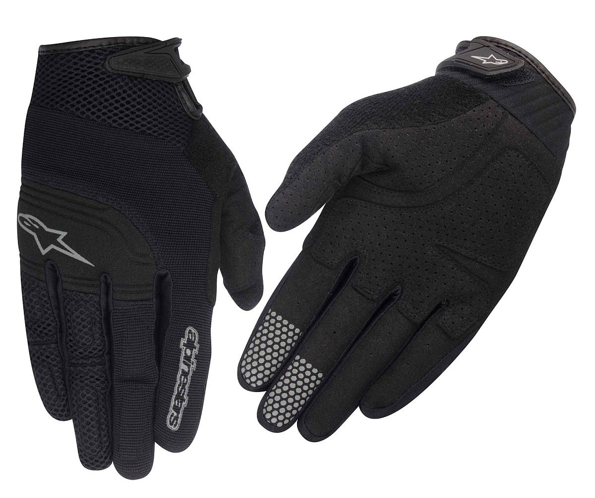 Alpinestars Velocity gloves Black Steel Grey
