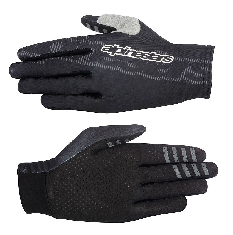 Alpinestars F-Lite rukavice Black Steel Gray