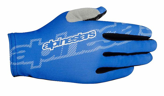Alpinestars F-Lite gloves Bright Blue