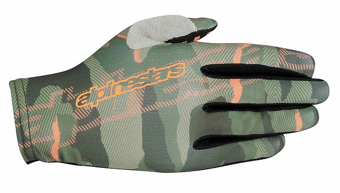 Alpinestars F-Lite gloves Military Gray Ochre Camo