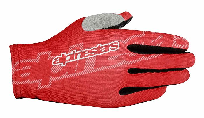 Alpinestars F-Lite gloves Spicy Orange Red